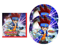 Beyblade Dessert Party Place Setting For 16