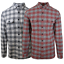 thumbnail 1 - Rip-Curl-Men-039-s-Kingsford-L-S-Flannel-Shirt-Retail-60