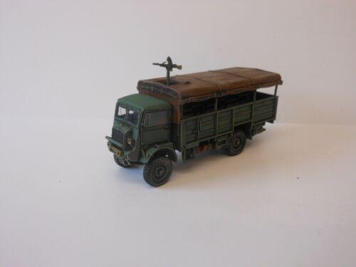 1:72 WW2 BUILT /& PAINTED BRITISH QLT TRANSPORTER #2