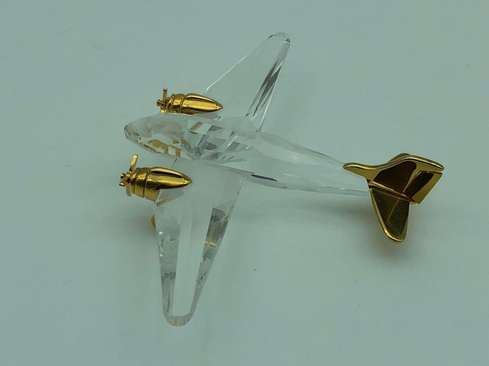 Swarovski Figurine Memories avion 10 cm excellent état