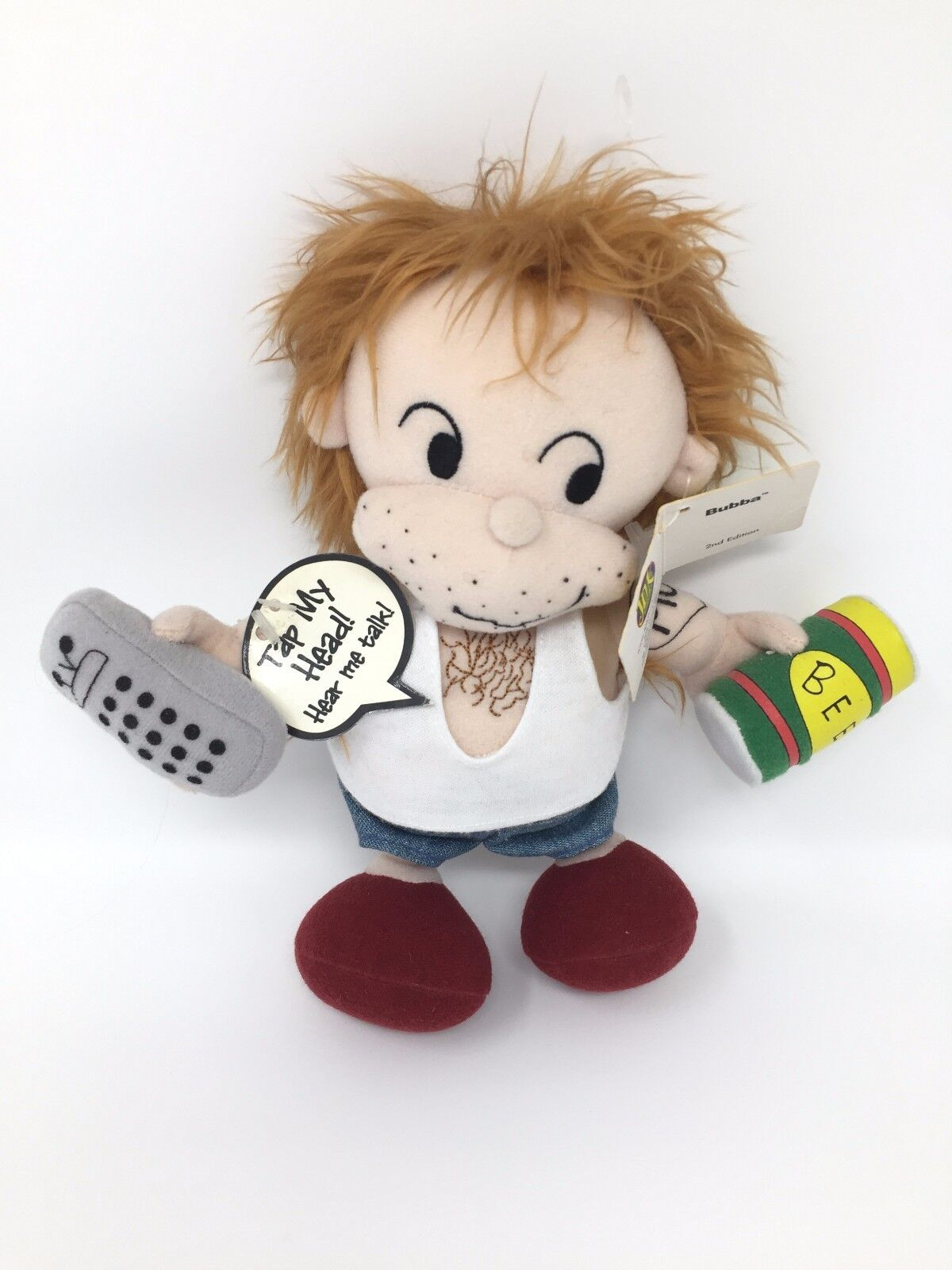 RARE COLLECTIBLE 2nd Edition Trash Talkers Doll Bubba Adult Toy