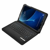 Ivso Bluetooth Keyboard Case For Samsung Galaxy Note 10.1 (black/red)