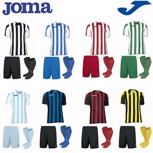 JOMA FOOTBALL FULL TEAM KIT KIDS BOYS CHILDREN SPORT STRIP TRAINING SHIRTS COPA