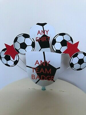 balls Shirt stars Unofficial Rangers football Club Birthday cake topper Logo