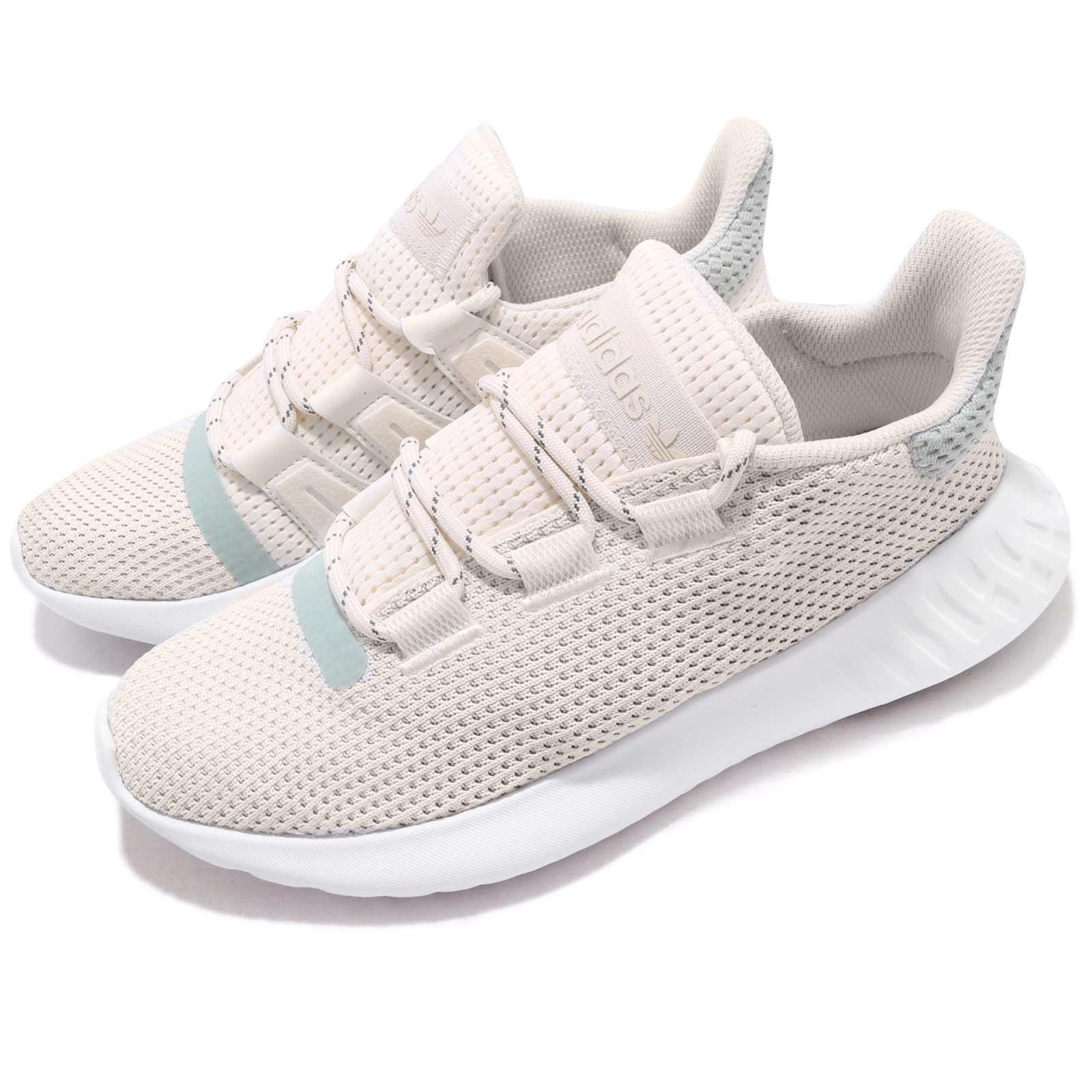 Adidas Originales Tubular anochecer W En blancoo Ash verde Mujeres Calzado para Correr B37765