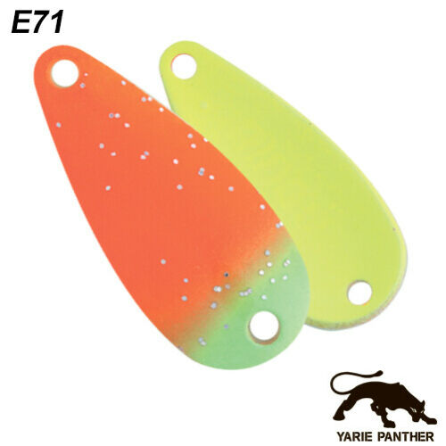Yarie Ringo Winner color 3 g 30 mm various colors trout spoon