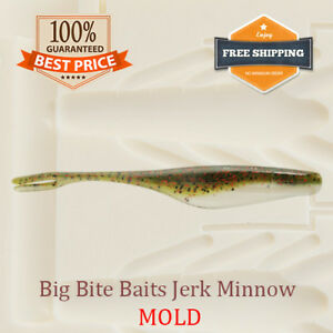 Megabass Hazedong Shad Bait Mold Mould Soft Plastic 50-125 mm