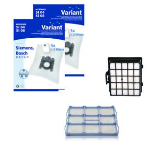 10 Staubsaugerbeutel-Set Variant geeignet für Siemens VS 06G2380