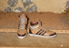1/6 Scale HOT / DAM Toy Tan Sriped High Tops Shoes for Ball Joint Style bodies