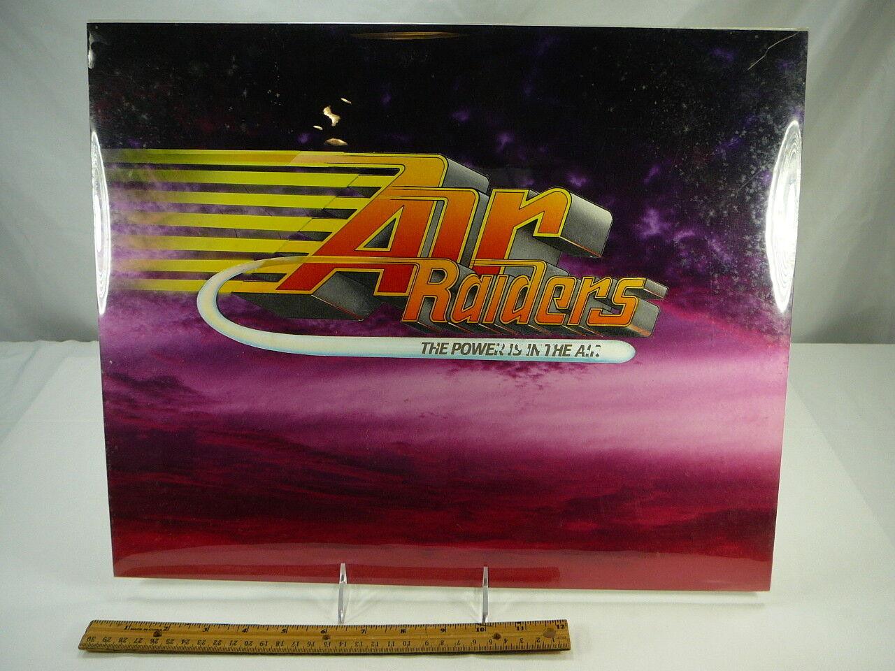 Hasbro Air Raiders Prototype 1987 Original Artwork Concept Logo Sample Rare