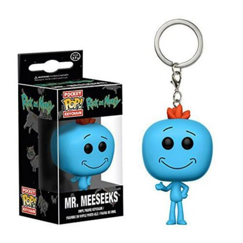 Vinyl Figure Keyring Collectible Toy Gift New In Box Keychain Funko Pocket Pop