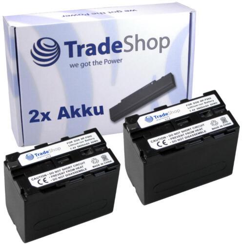 2x AKKU für Sony DCR-TRV7 DCR-TRV7E DCR-TRV-7//E