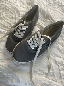 Womens Vans Atwood Low Canvas Pewter