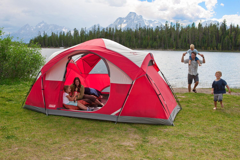 Dome Tent 8Person Modified all'aperto Family Tent Coleuomo Cimmaron