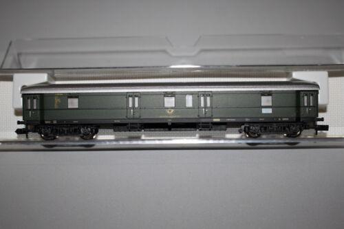 FLEISCHMANN 8635 K 4-achser train de passagers-postgepäckwagen post 4e DB piste n OVP