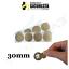 miniatuur 7 - Bollini Scratch off modello gratta e vinci adesivi a cerchio in vari colori