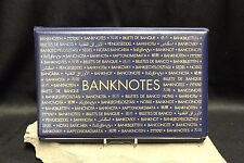 LARGE Currency Banknotes Album Paper Money Post Cards Savings Bonds Lighthouse