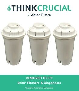 3-Replacements-Pitchers-amp-Dispensers-Brita-Water-Filters
