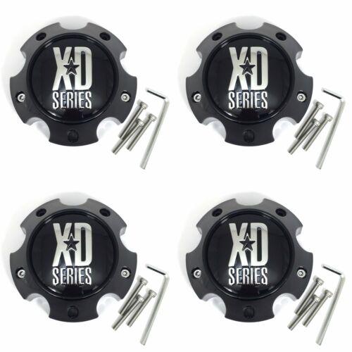 "4 XD Gloss Black Center Cap 5.75/"" 5Lug XD797 XD820 XD818 XD801 XD835 XD800 XD798"