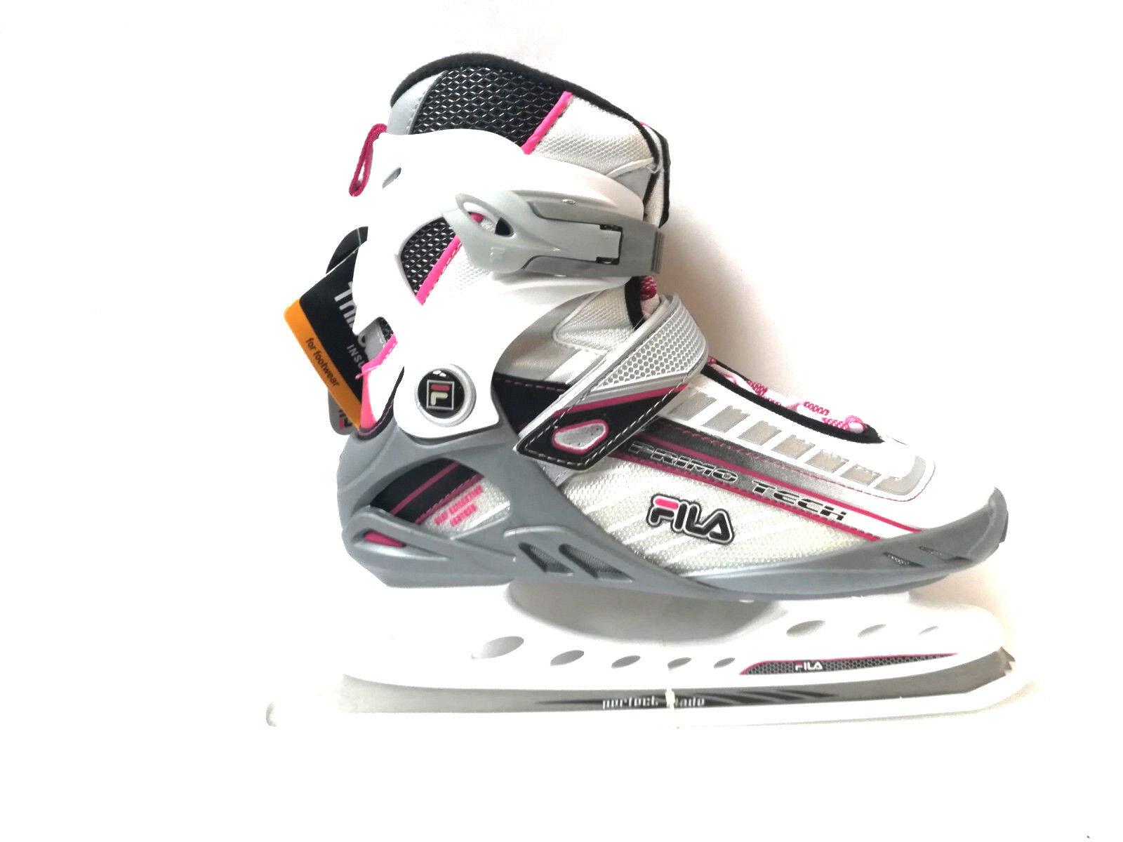 Fila Primo Tech Tech Tech Lady silber Schlittschuh Eislaufen SoftStiefel Gr. 37 Ice Skate 2e9324