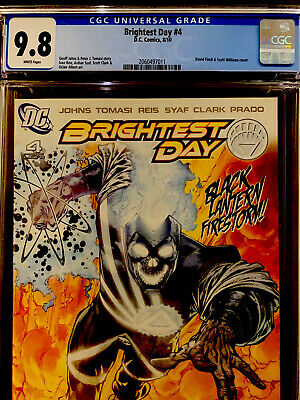 Brightest Day 4 Ivan Reis 1:25 Incentive Variant CGC 9.8 1st App New Aqualad