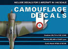 Camouflage & Decals: v. 1: 1/48th Scale Edition by Bartlomiej Belcarz (Paperback, 2010)