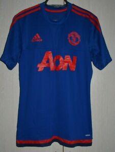 Manchester United 2015/2016 Training Football shirt jersey Adidas taglia M adulto