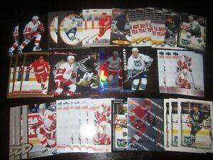 Huge-Lot-of-38-Brendan-Shanahan-Hockey-Cards-Red-Wings