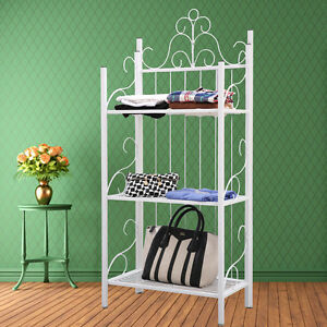 new standregal wandregal regal aus eisen lm ceah weiss ebay. Black Bedroom Furniture Sets. Home Design Ideas