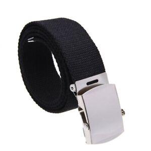 Cloth-belt-waistband-Band-Belt-Black-Men-38mm-A8N6