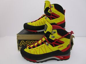 Asolo-Piz-GV-Mountaineering-Boot-Mimosa-Fire-Red-Men-039-s-US-Size-9