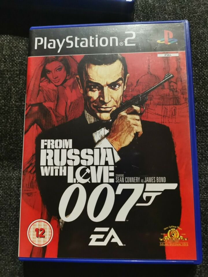 007 - From Russia With Love, PS2, action