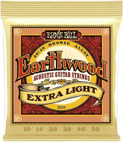 Guitar Strings Acoustic//Electric Ernie Ball Fender Elixir DAddario Light Set Lot