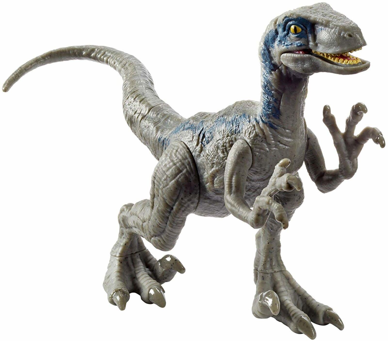 Jurassic World Velociraptor Blau Dinosaur Toy Attack Pack Figure Fallen Kingdom