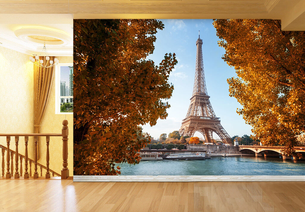 The Eiffel Tower 75 Wall Paper Wall Print Decal Wall Deco Indoor wall Murals