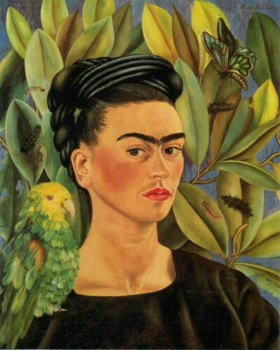 Self Portrait By Frida Kahlo Painting Artwork Paint By Numbers Kit DIY Adult Kid