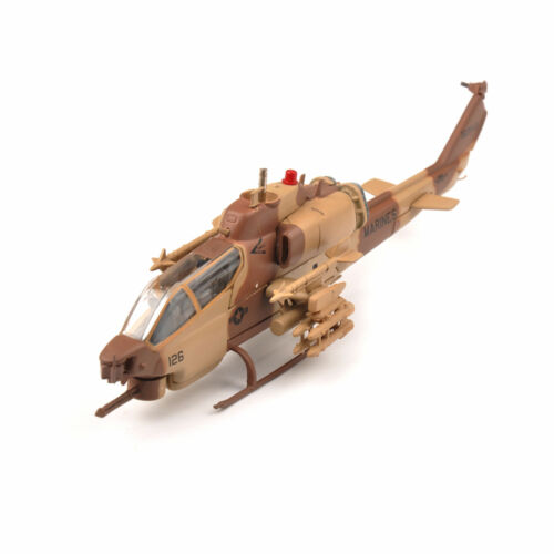 IXO 1//72 Diecast Marines AH-1W Supercobra Camo Helicopter Airplane Aircraft Toy