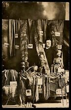 Unusual Sanborn Iowa Africa artifacts antique RPPC real photo postcard