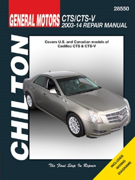 2003-2014 Cadillac CTS /& CTS-V Repair Service Workshop Shop Manual Book 922514