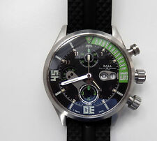 Gent's Ball Engineer II Master Diver Automatic Chronograph Watch with Day/Date