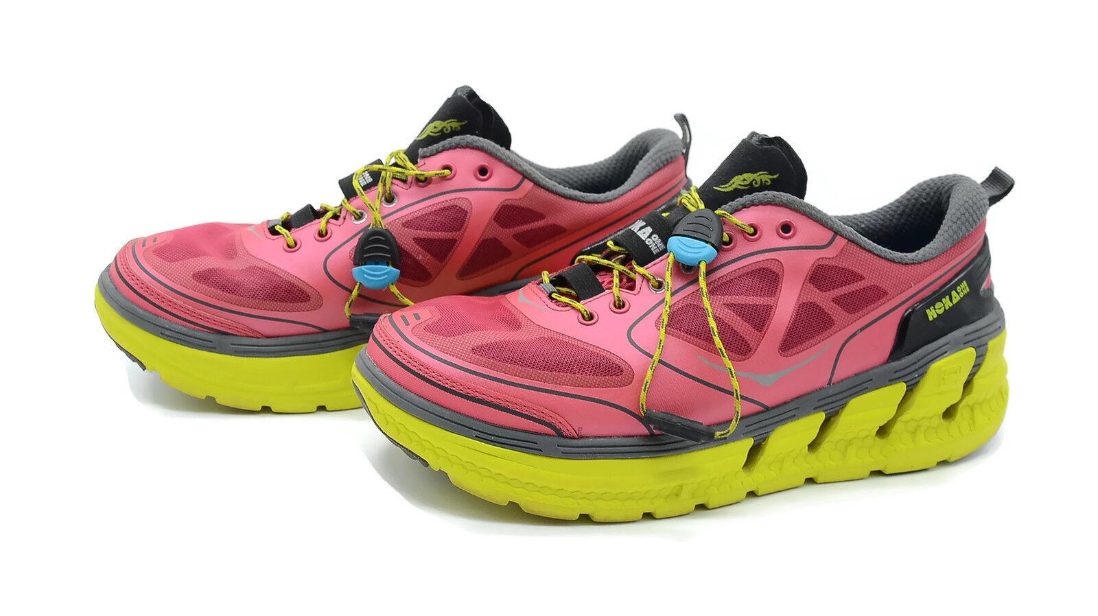 Hoka One One Para Para Para Mujer Talla 7.5 conquista meta-Rocker Zapatos Correr Atléticos Sport  el mas de moda