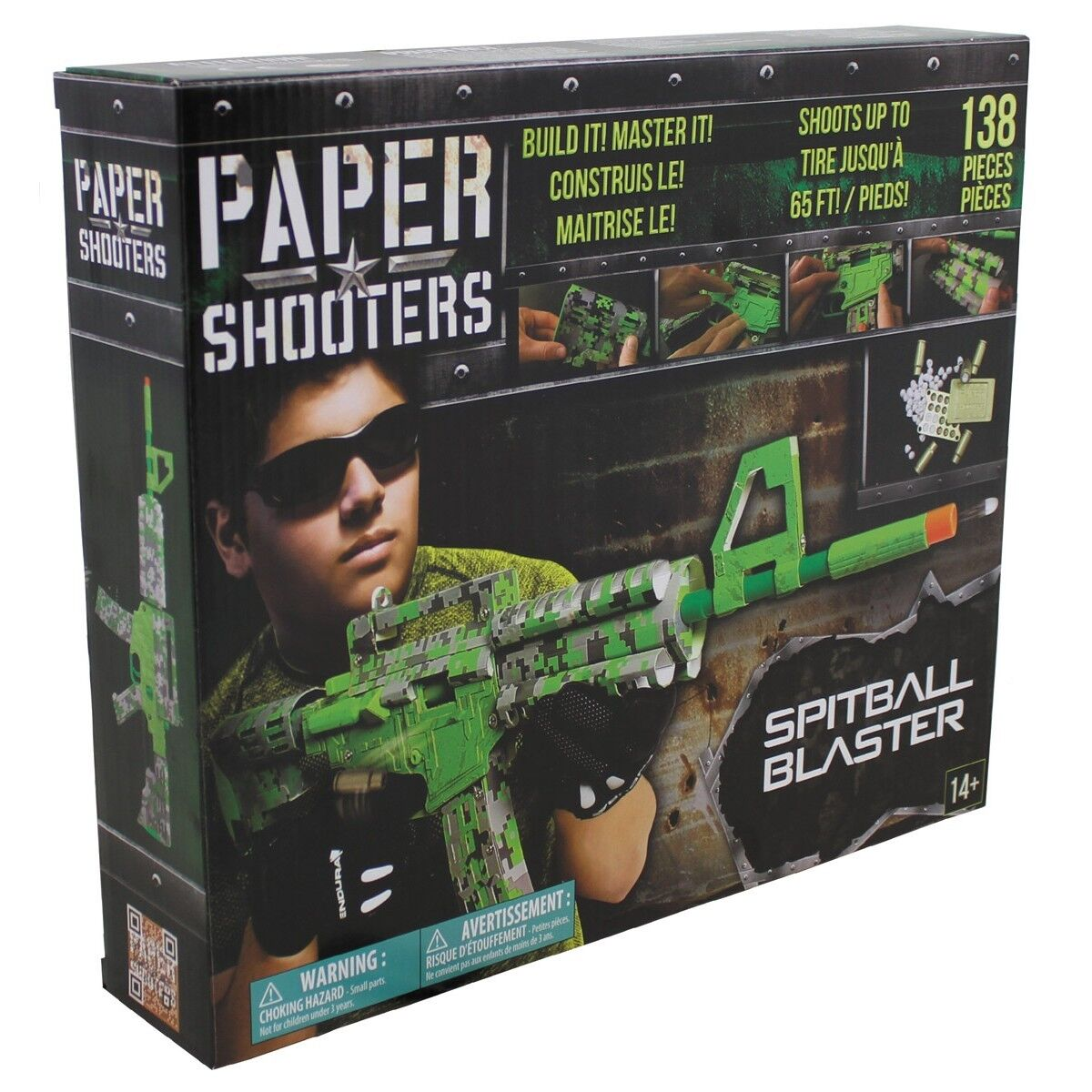 MFH PAPER SHOOTERS Kit of costruire Tactician Green Spit 38502