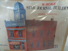 MODEL POWER N SCALE STAR JOURNAL BUILDING