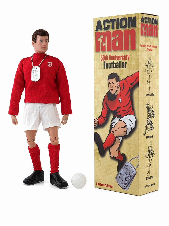 Action Man AM713  50th Anniversary Footballer  Figure