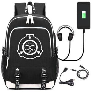 Рюкзак безопасный SCP содержат защитить ноутбук сумки дети подростки студенческий школьный сумки