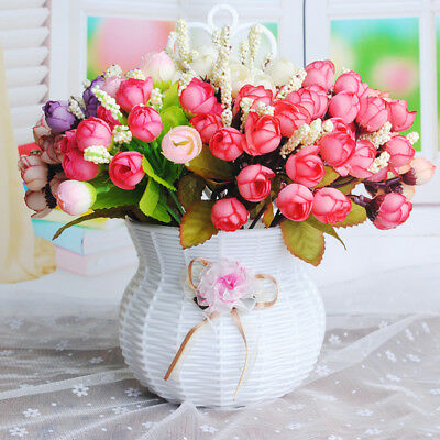 Künstliche Gypsophila Blume Pflanze Kunstblumen Hochzeit Hausdekor
