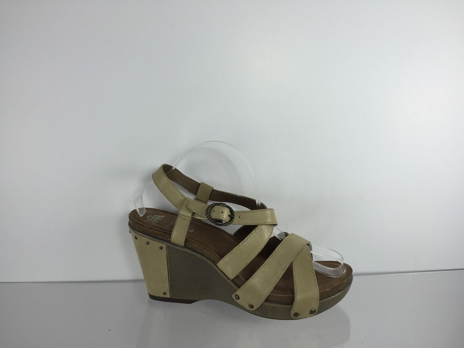 Nine West Rhyan Cross Strap Strap Cross Sandals, Natural 528f8f
