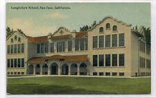 Longfellow School San Jose California 1910c postcard