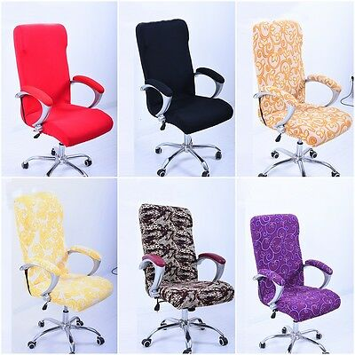 Removable Washable Kitchen Office Swivel Chair Cover Slipcover Protector Decor Ebay