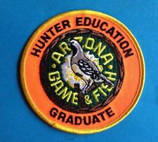 Arizona Game & Fish Hunter Education Outdoor Sporting Hunting Jacket Patch Crest